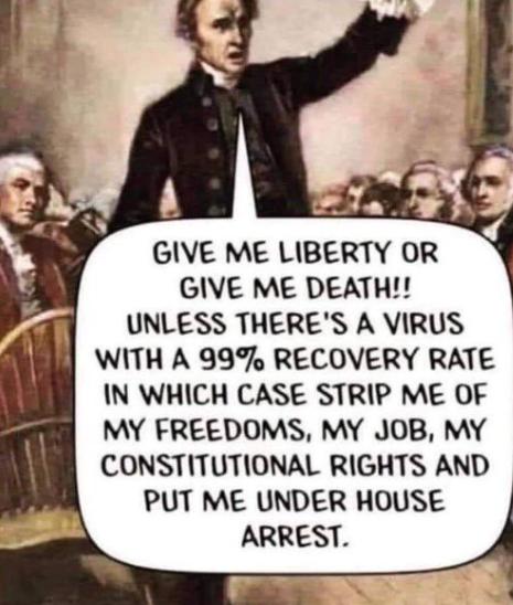 Gi meg frihet eller død