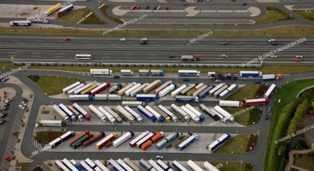 Ødelagt transportbransje
